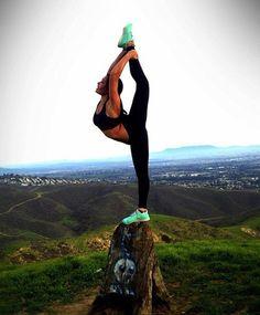 Goal this year... Hopefully! Balance & Flexibility. #fitspo