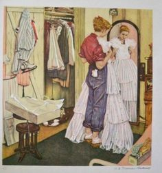 Norman Rockwell Prints, Norman Rockwell Paintings, Original Paintings For Sale, Selling Art Online, Dance Art, American Artists, Belle Photo, Contemporary Artists, Illustrators