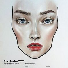 #enlightened trend #macss15 #facechart #maccosmetics #makeuptrends