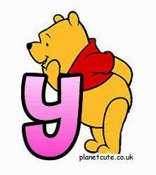Alfabeto con Winnie the Pooh. | Oh my Alfabetos!