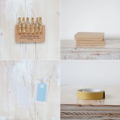 glitter paint some clothespins, glue magnets onto them, and use them to hang stuff on the fridge
