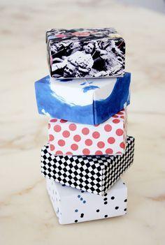 philuko: DIY: Papierboxen falten