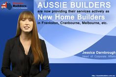 #AussieBuilders are now providing their services actively as new home builders in Frankston, Cranbourne, Melbourne, etc.