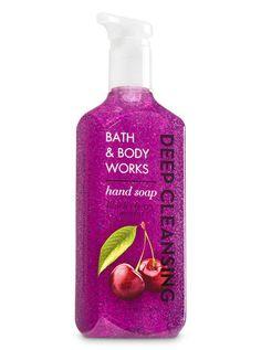 Black Cherry Merlot Deep Cleansing Hand Soap - Bath And Body Works Black Cherry Merlot, Perfume Body Spray, Soap Holder, Mouthwash, Smell Good, Shower Gel, Bath And Body Works, Bath Bombs, Vodka Bottle