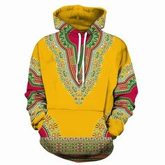 2018 new large size Hoodie Dashiki African Cotton men women Hoodies Sweatshirts hoodie Sweatshirt for moletom feminino 3d Pattern, Boxers, Dashiki Hoodie, Mode Wax, African Dashiki, African Dress, Mens Sweatshirts, Pulls, Traditional Outfits