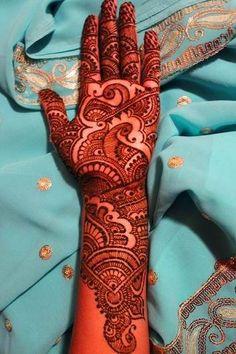 Indian Mehndi Designs 2013 For Ladies