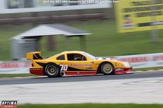Adam Rupp's 1995 in Turn 5 at Road America during the 2019 SVRA Spring Vintage Race Elkhart Lake, Optima Battery, Spring Racing, Vintage Racing, Road Racing, Ford Mustang, America, Car, Automobile