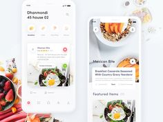 How to Make an On-Demand Food Delivery app like GrubHub, Postmates food food app - Recipes Design Android, App Ui Design, Interface Design, User Interface, Design Design, Ui Design Mobile, Mobile Application Design, Delivery App, Delivery Food