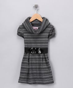 Gray Marled Belted Dress LOVE IT $13.99