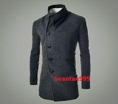2014 New Design 100% handmade Graceful British Fashion Men Fleece Wool Blazer Collar Men Coat Winter Men Jacket Men Shirt WK-CQCWA-8646-115 on Etsy, 398,34kr