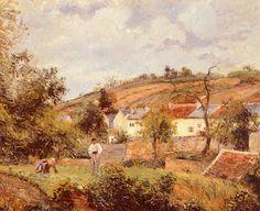 """Camille Pissarro  ~ """"Pontoise"""""""