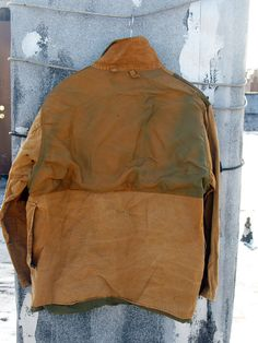 1c0f7c8a6e VINTAGE Mens Hunting jacket Size L XL bird pockets by NYCpicker