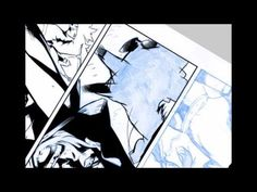 Digital Inks over Cary Nord's Eternal Warrior page