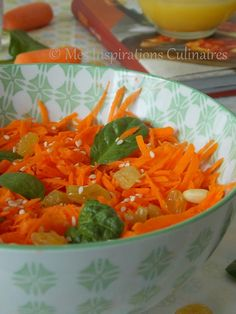 Salade de carottes a l'orange