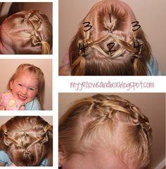 Twist Me Pretty: little girl hairstyles