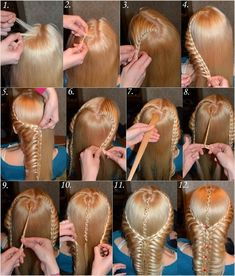 Gorgeous Braided Hairdo for Long Hair
