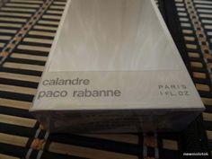 Calandre Paco Rabanne 30ml. Perfume Vintage Sealed by MyScent on Etsy