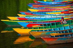 """Colorful Moorage"" by Anton Jankovoy"