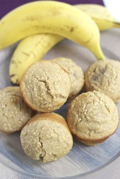 Banana Millet Muffins - so moist and perfect for snacking!