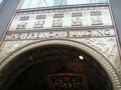 Entranceway, The French Building, 551 Fifth Avenue, NYC
