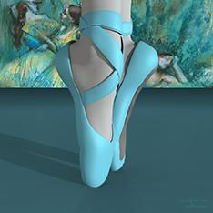 Contemporary wall art and modern art pictures of ballerinas and ballet as art prints, large canvas art and budget dance posters. I love ballet T-shirts. Degas Ballerina, Ballerina Dancing, Pointe Shoes, Toe Shoes, Modern Art Pictures, Ballet Art, Large Canvas Art, Edgar Degas, Contemporary Wall Art