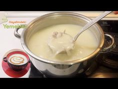 How to make a chicken secret soup that cooks kept secret / Yal . Soup Recipes, Cookie Recipes, Dinner Recipes, Cake Recipe Using Buttermilk, Tripe Soup, Soup Store, Turkish Recipes, Ethnic Recipes, Shellfish Recipes