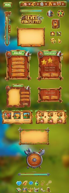 """Check out this @Behance project: """"viking game art"""" https://www.behance.net/gallery/57731201/viking-game-art"""