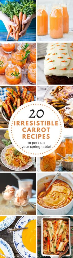 20 Yummy Carrot Reci