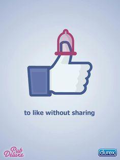 Para gostar sem compartilhar!