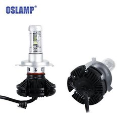 46.58$  Watch here - Oslamp X3 Car LED Headlights Bulbs H4 H7 H11 9005 9006 H13 50W 6000LM CREE Chips All in one CSP LED Headlamp 3000K 6500K 8000K  #buymethat