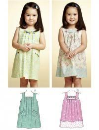 Cute toddler dress pattern