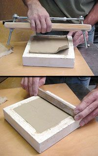 Making Multiples: Cavity Molds for Handmade Ceramic Tiles - Ceramic Arts Network - Making Multiples: Cavity Molds for Handmade Ceramic Tiles - Ceramic Tile Art, Clay Tiles, Ceramic Studio, Ceramic Clay, Ceramic Artists, Ceramic Pottery, Slab Pottery, Thrown Pottery, Ceramic Bowls