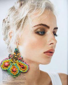 "216 Likes, 3 Comments - Anita Quansah London (@anitaquansahlondon) on Instagram: ""Whisper sweet nothings 😉😉 #anitaquansahlondon #jewelrygram #bohochic #details #glamour…"""