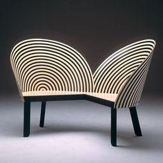 Nanna Ditzel Black & White Chair