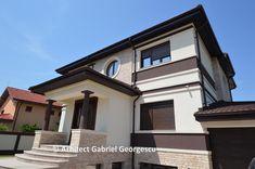 Proiect 21 | Casa cu etaj | Proiecte de case personalizate | Arhitect Gabriel Georgescu & Echipa Case, Home Fashion, Mansions, House Styles, Interior, Design, Home Decor, Mansion Houses, Indoor