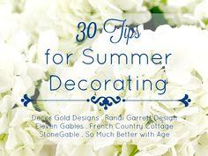 30 Tips for Summer D