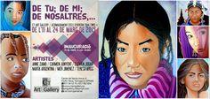 Exposición colectiva de pintura y escultura. Del 11 al 24 de Marzo 2015 CT ART GALLERY Calle Santa Ana, 6 Reus (Tarragona) Vernissage : 14 de Marzo 2015, a las 19 h. Os esperamos !