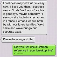 This text that proves fandoms come in handy during a fight: | 19 Texts That Prove Romance Is Alive And Well