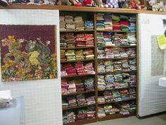 Hidden Quilt Fabric Storage