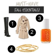 Must-Have Fall Essentials!