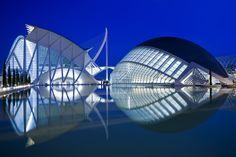 L'Hemisferic. Ciudad de las Artes y las Ciencias. Valencia, España