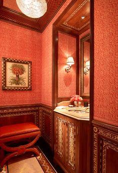 Urban Elegance - traditional - powder room - san francisco - Tucker & Marks