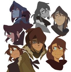 some backlogged art of my kids