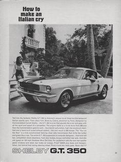 Mustang Make an Italian Cry Ad