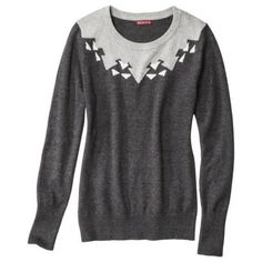 Wear this sweater to a football game, an outdoor bonfire or apple picking with your family!
