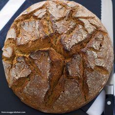 spelt potato bread / dinkel kartoffel brot Bread Recipes, Dinner, Desserts, Food, Food Food, Food Recipes, Hessen, Breads, Crickets