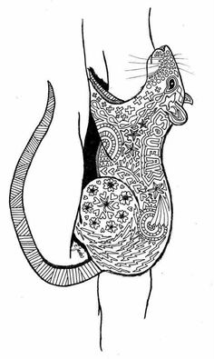 100 Best Rats Love Coloring Images Coloring Pages