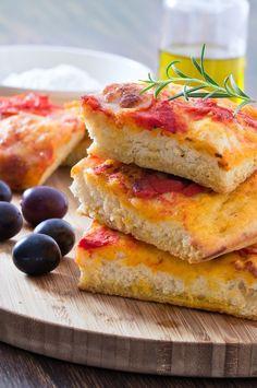 Focaccia bread #cucinaitaliana