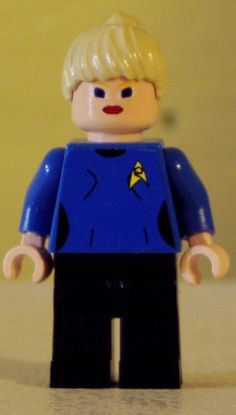 Custom Lego Minifig Star Trek Nurse Christine Chapel | eBay