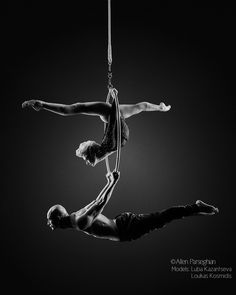 Acrobatics (Luba Kazantseva and Loukas Kosmidis of Cirque du Soleil) by Allen Parseghian on 500px